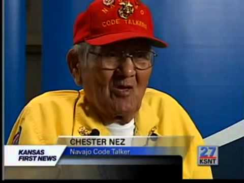 chester nez Chester nez joined the us marine corps and was assigned to the 382nd infantry regiment he and 28 other navajo became known as the code talkers, developing.