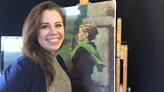 Part 3, Painting a Self Portrait with Jessica Henry