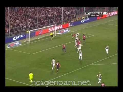 GENOA-Juventus 3-2 (MOTTA,delpiero(r),MOTTA,iaquinta,PALLADINO) 11/04/2009