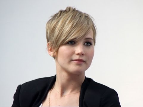 Jennifer Lawrence Golden Globes Pixie Haircut Tutorial