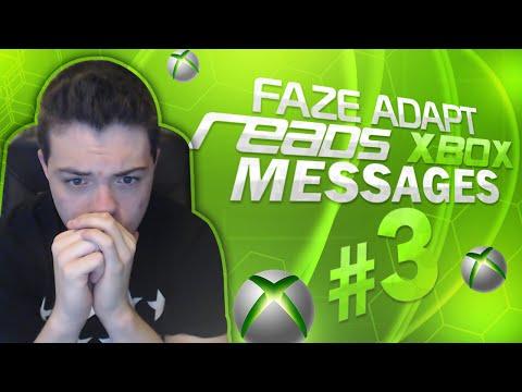 FaZe Adapt Reads Xbox Messages #3