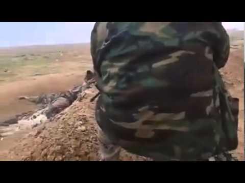 Kurdish Peshmerga Kill ISIS rats in Kurdistan Iraq