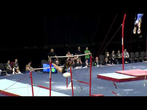 BECKY DOWNIE - BARS  - 2013 British Champs - AA