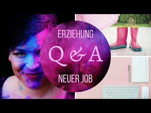 Q&A | Erziehung, neuer Job | Frau Farbenfroh