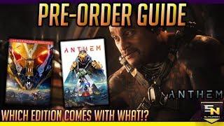 Anthem | Pre Order Guide- Standard vs Legion of Dawn Edition vs Origin Premiere