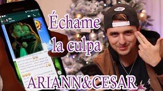 Download Lagu Échame la culpa - Luis Fonsi - Cover Ariann ft César 😘 hermana de 10 años de Dalas Review😂😂 Gratis STAFABAND