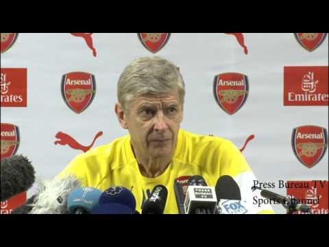 Arsene Wenger pre Chelsea vs Arsenal