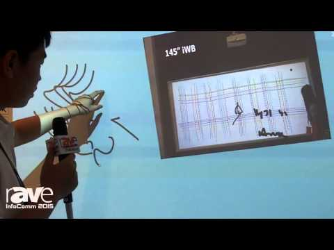 InfoComm 2015: TimeLink Features 145″ iWB Interactive Whiteboard