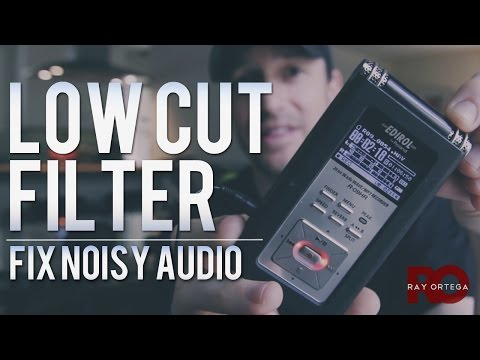 Fix Audio Noise Using a Low Cut Filter