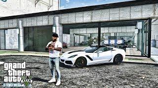 GTA 5 REAL LIFE MOD #625 - SAVAGE SPEED TV CORVETTE (GTA 5 REAL LIFE MODS) 4K