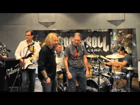Rock n Roll Fantasy Camp With Vince Neil and Bruce Kulick