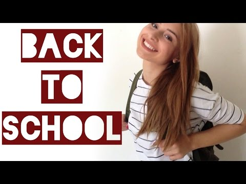 BACK TO SCHOOL ♥ haar make-up & outfits || Americole.nl
