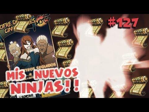 Naruto Online 120 Rollos en Cofre Kages! NOOB A PRO #127