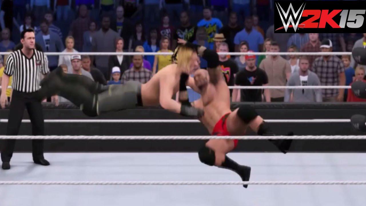 Wwe 2k15 Randy Orton vs Seth Rollins Wwe 2k15 Seth Rollins Curb
