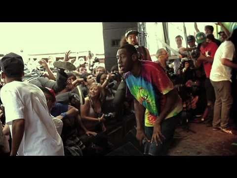 Odd Future - Sandwitches Live at Thrasher SXSW 2011