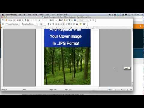 Open Office Kindle Ebook Template Overview