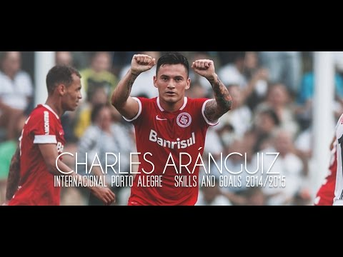 Charles Aránguiz - Internacional Porto Alegre - Skills & Goals 2014/2015