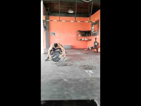 Alejandro Sanchez CrossFit DMA Manila ThrowDown