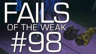 Fails of the Weak: Ep. 98 - Funny Halo 4 Bloopers and Screw Ups! | Rooster Teeth