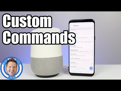 Create Custom Shortcuts For Google Home