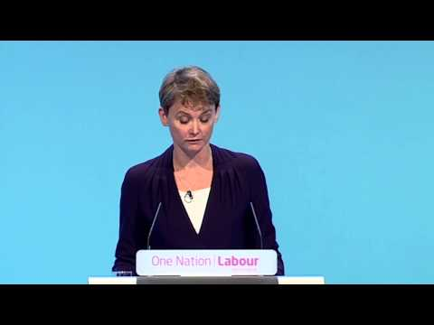 Yvette Cooper (Shadow Minister for Women & Equalities) Conference 2013 Speech