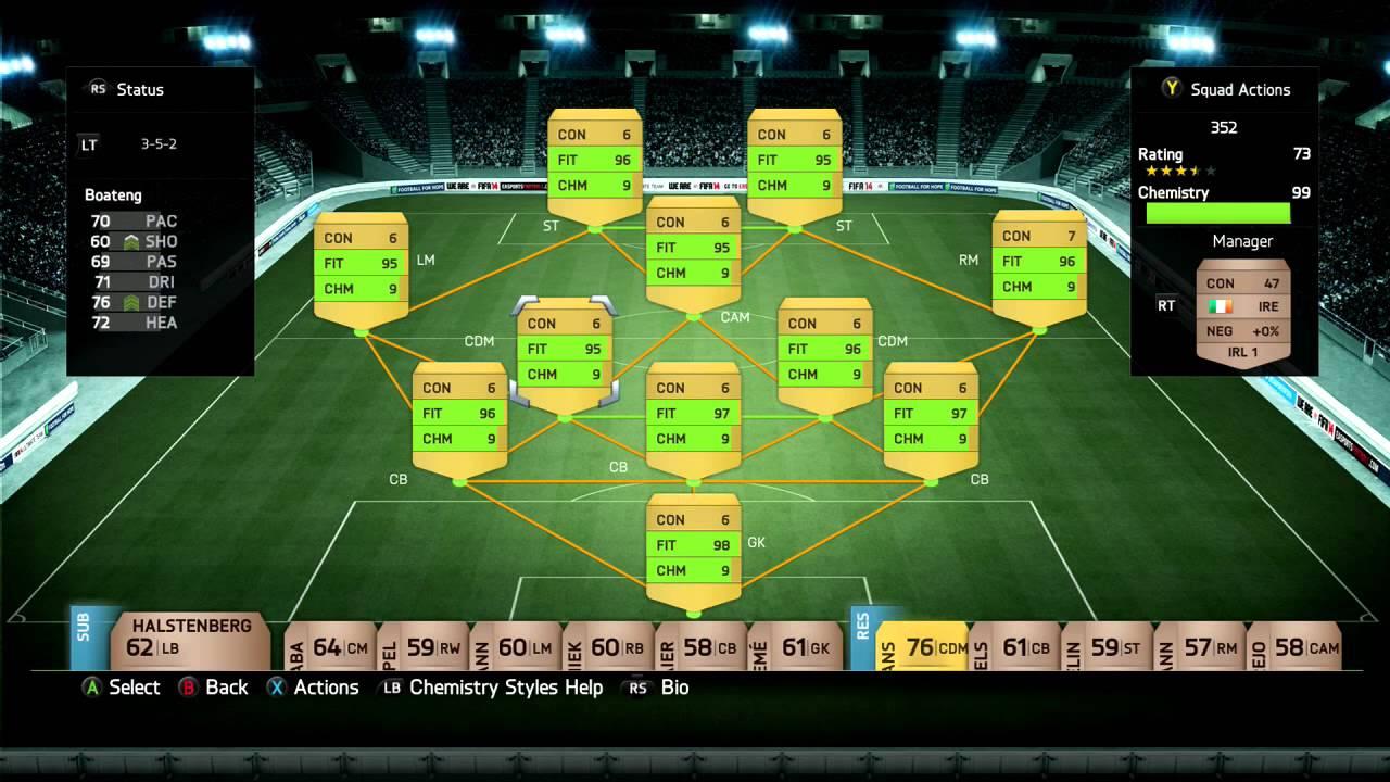 Xbox One Fifa 14 Ultimate Team FIFA 14 Xbox One Ultimate Team