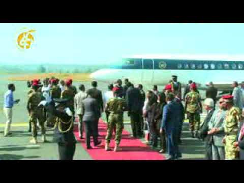 President Ismail Omar Guelleh of Djibouti and Sudanese President Omar al-Bashir's Visit In Ethiopia