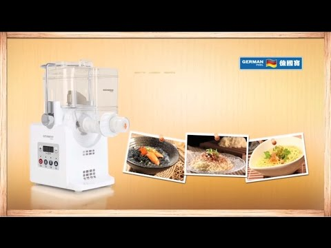 Product Intro: Automatic Dough & Noodle Maker
