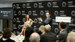 Cablevision COO Kristin Dolan with AMC CEO Josh Sapan