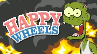 BLOWING UP ZOMBIES - Happy Wheels Best Levels 7 - Episode 20