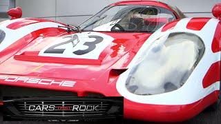 Cars that Rock - Test Driving the Porsche 917