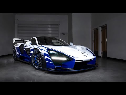 Is This The Most Unique McLaren In The World? Senna 001 Detailed and Fully Protected!