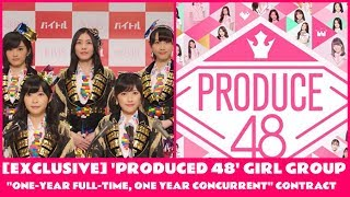 EXCLUSIVE 'PRODUCED 48' GIRL GROUP ONE YEAR FULL TIME, ONE YEAR CONCURRENT CONTRACT