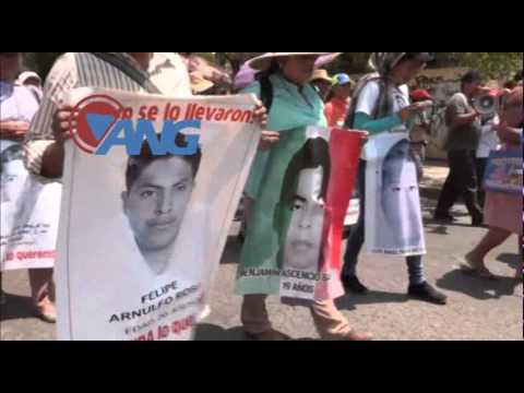 Marchan en Chilpancingo contra las elecciones