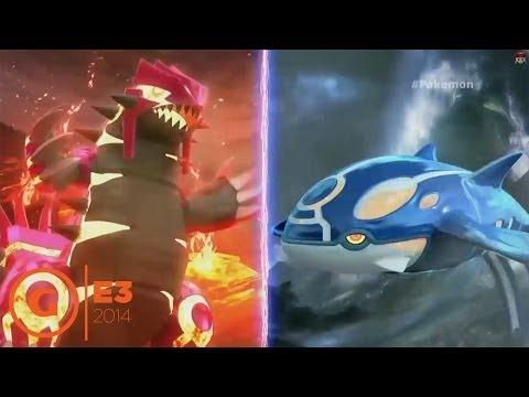 Pokemon Omega Ruby and Alpha Sapphire Trailer at Nintendo Press Conference - E3 2014