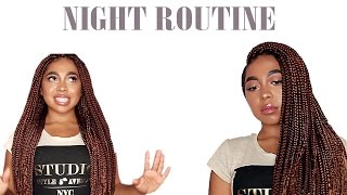 How I Sleep With Long Braids (2 Comfortable Ways) | BOX BRAID SERIES PT. 3