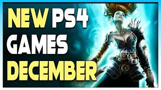 7 AWESOME NEW PS4 GAMES COMING IN DECEMBER 2019! - UPCOMING GAMES 2019