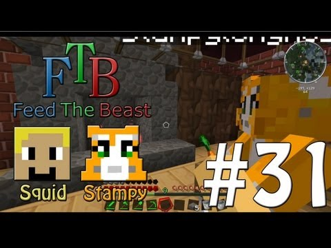 Feed The Beast #31 - Decorating The House!! - W/Stampylongnose