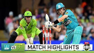 By Joe, the Heat storm past Thunder at the Gabba | KFC BBL|10