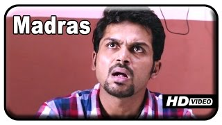 Alex Pandian - Madras Tamil Movie - Karthi's mother spoils his marriage plans | Madras Comedy