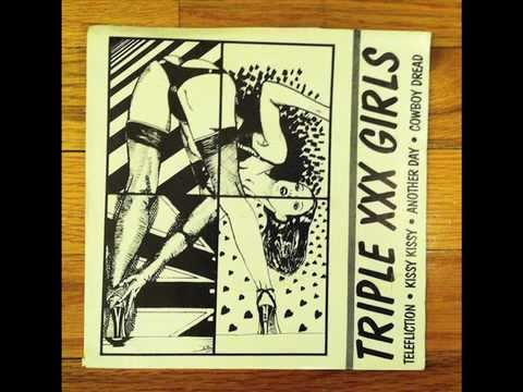 Triple XXX Girls - Another Day & Kissy Kissy - Red Hair Records 1982