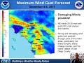 Strong Santa Ana Winds Next Week, December 4-7th