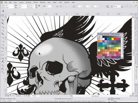 Drop Shadow Effects in CorelDRAW Tutorial