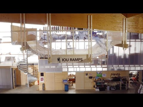 Meet the guy behind the flying mini ramp. | Warehouse Paradise BTS