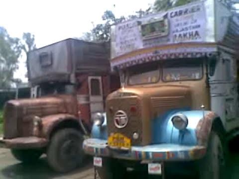 Punjabi Tata Truck Stunts By Shahkot Youtube