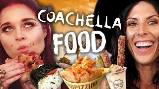 Best Food at Coachella 2018! (Cheat Day)