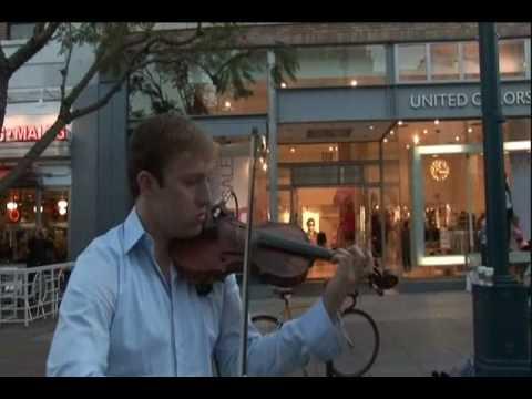 Josh Vietti Electric Violin - Lost Without You 2-19-09