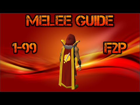 [F2P] OSRS: 1-99 Melee Combat Guide f2p Old School RuneScape (2007) [HD]