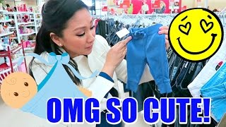 🍼 NEWBORN BABY CLOTHES SHOPPING! 😍