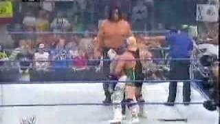 Rey Mysterio vs  The Great Khali (Batista & Finlay Interference)